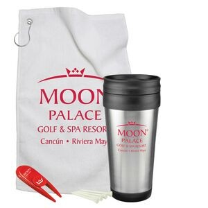 Steel Budget Tumbler Golf Gift Set