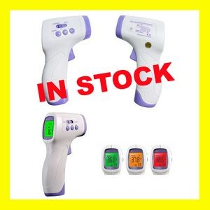 USA STOCK - Non-Contact Forehead Infrared Thermometer Class 1M - CE and FCC Certified